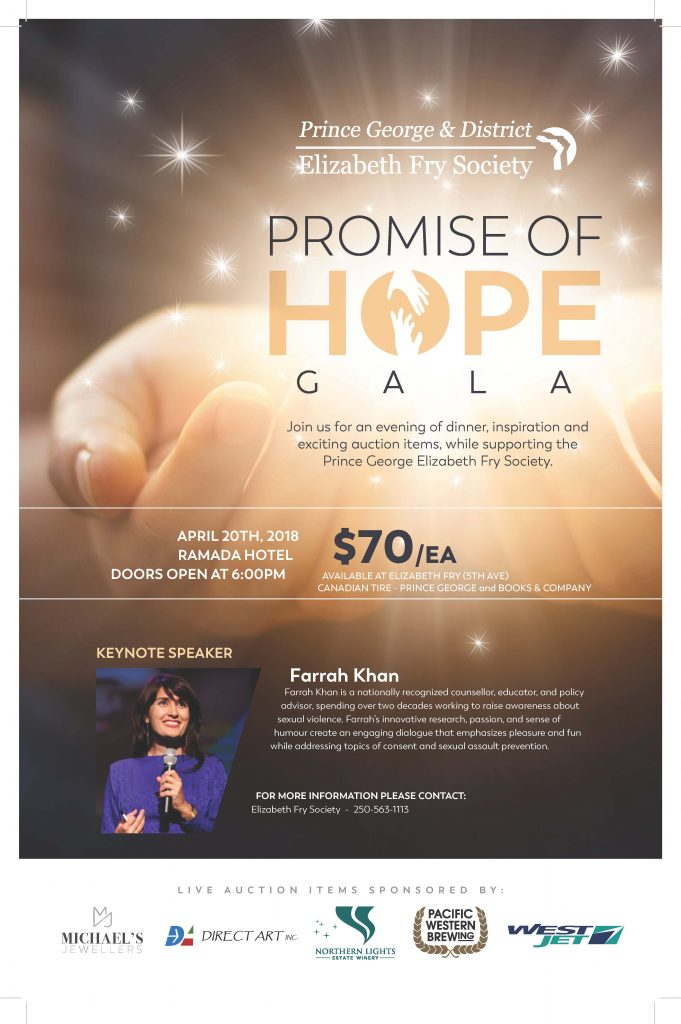 Promise of Hope Gala poster